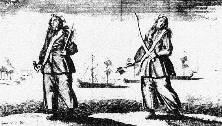 DI CAPITANI, BALENE E MAMBA: Mary Ambree, donna e capitano, a cui si è ispirato Kipling per il titolo del romanzo Capitani Coraggiosi.