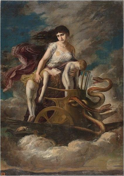 NUNC MEDEA SUM: Medea fugge nel suo carro divino distaccandosi dai figli morti e dal mondo degli uomini