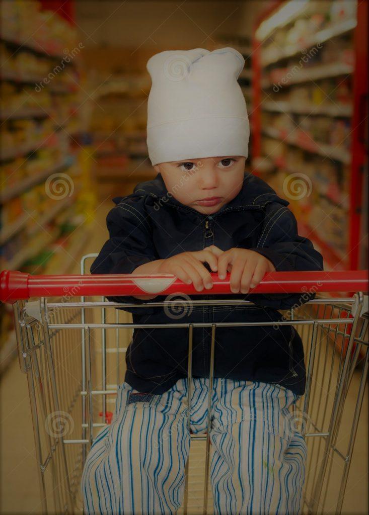 PrimaValle Epidemic 2, Bambino nel carrello del supermercato