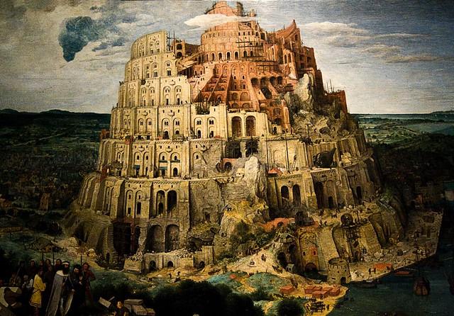 PrimaValle Epidemic FASE 2, la Torre di Babele di Peter Bruegel il Vecchio