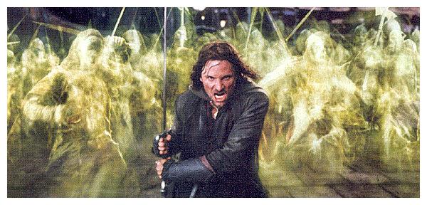 La vasta moltitudine dei morti: Aragorn e l'esercito dei morti