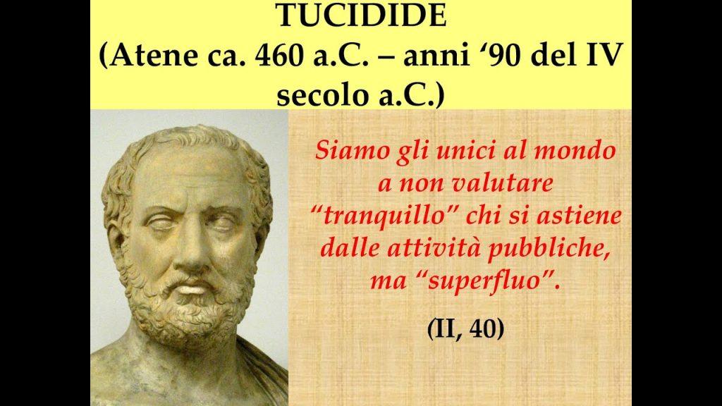 Covid19 e la trappola di Tucidide