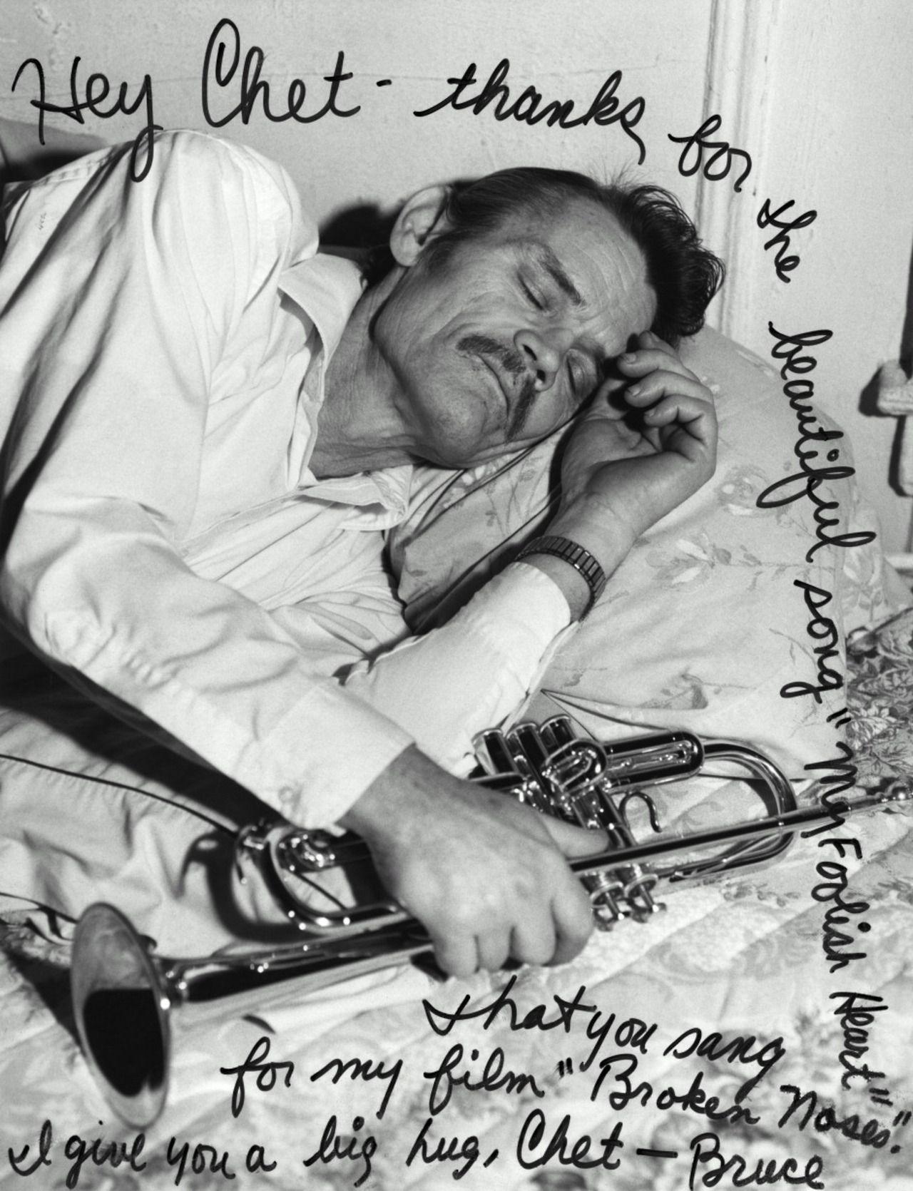 Una storia su Chet Baker: Chet by Bruce Weber