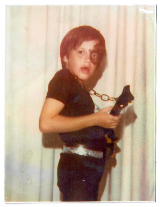 John Frusciante bambino